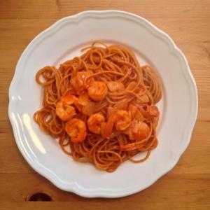 Ddeokbokki (떡볶이; Spicy Rice Cake) Spaghetti Recipe