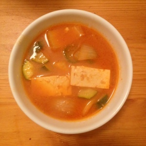 ssamjang jjigae seasoned bean paste stew