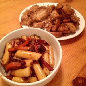 Dakkangjung sweet and crispy chicken