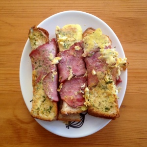 bacon toast stick