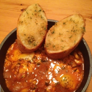 bacon tomato stew